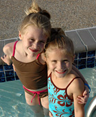 Kids love the pool!
